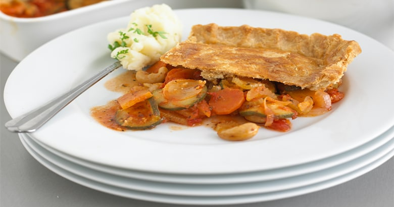 Winter Vegetable Pie