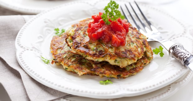 Courgette Griddle Cakes