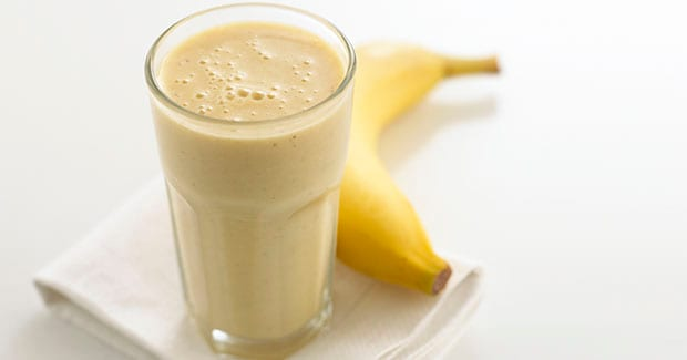 Smoothie de Banana e Aveia