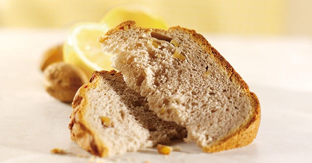 Citrus and Walnut Bread