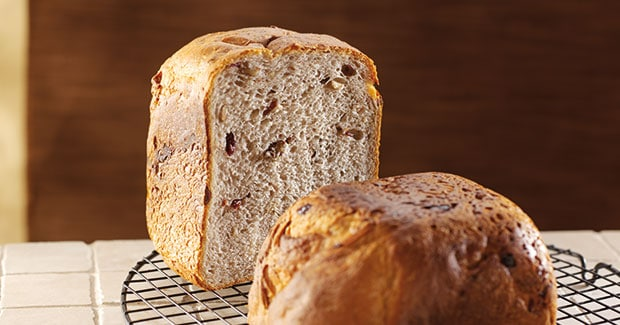 Cranberry, Almond & Pecan Bread