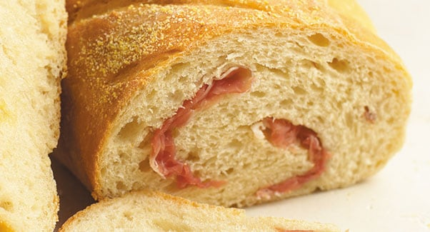 Prosciutto and Parmesan Bread