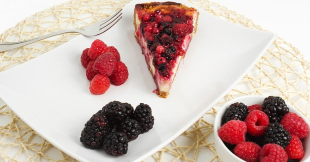 Baked Raspberry Cheesecake kMix Kitchen Machine recipe by Kenwood NZ