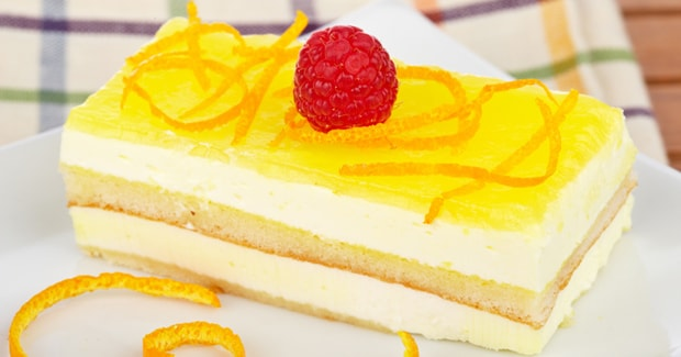 Lemon Gateaux kMix Kitchen Machine recipe by Kenwood NZ