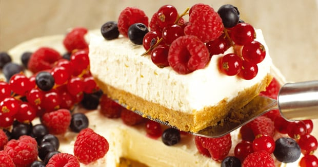 Receta de Cheesecake de vainilla | Cooking chef de kenwood