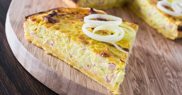 Golden Onion Tart