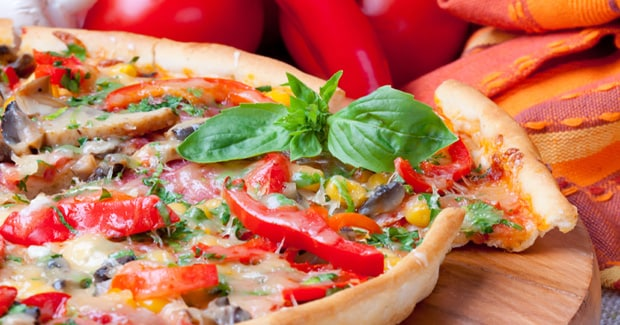 Red Pepper and Parmesan Pizza Prospero recipe by Kenwood New Zealand