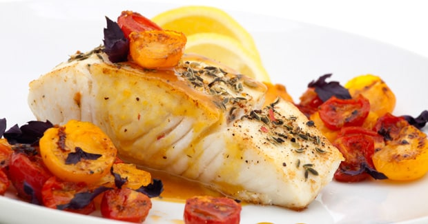 Pan Fried Halibut with Tomato and Herb Salsa recipe by Kenwood New Zealand