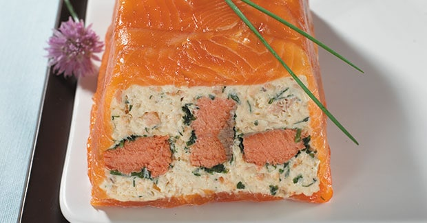 Salmon and Trout Terrine