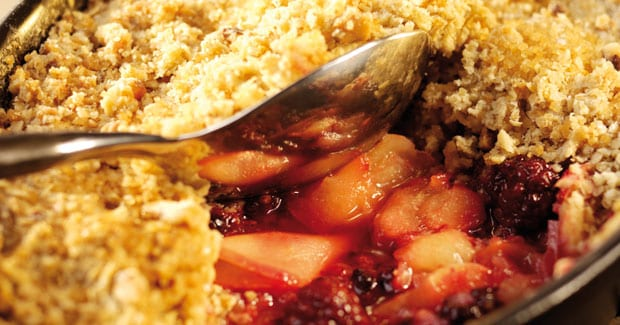 Apple & Blackberry Crumble Recipe