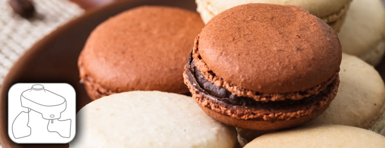 Macaroons recipe using food processor kenwood recipe difficulty easy vegetarian forumfinder Image collections