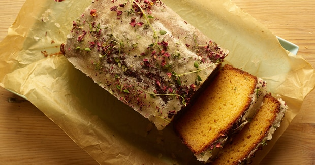 Grapefruit Yoghurt Cake with Thyme