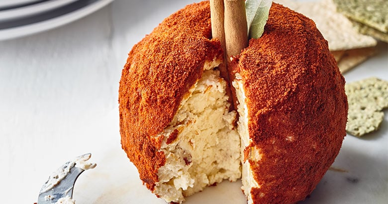 The Big Apple-Sharing Cheese Ball