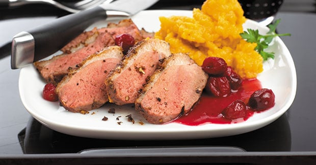 Fruit Glazed Duck Breasts recipe by Kenwood New Zealand