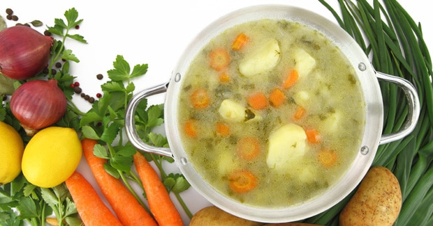 Winter Vegetable Soup recipe by Kenwood New Zealand