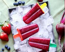 Berry and Beetroot Smoothie Popsicles Recipe