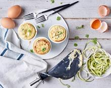 Anna Polyviou's Cheese and Zucchini Souffle