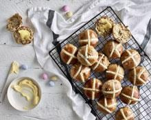 Hot Cross Buns recipe by Anna Polyviou