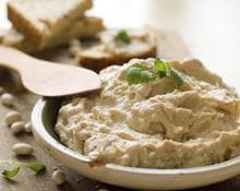 Low Fat Creamy Hummus