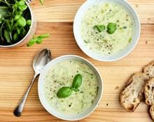 Zucchini and Garlic Soup