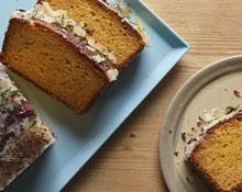 Grapefruit Yoghurt Cake with Thyme recipe