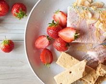 Strawberry Semifreddo Recipe with Kenwood hand blender
