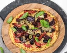 Cauliflower Pizza Base Recipe