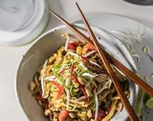 Spiralized Zucchini Pad Thai Recipe