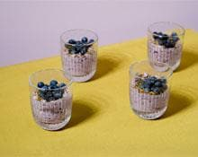 Blueberry and Honey Mousse By Jordan Rondel Recipe