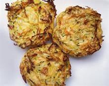 Mini veggie and cheese frittatas