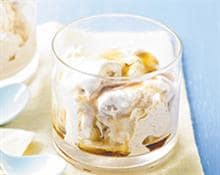 Apple and Cinnamon Yogurt Ice