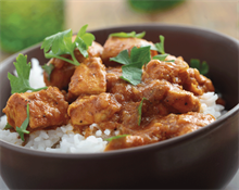 Receta de pollo al curry con kCook de Kenwood