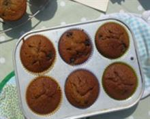 Great Granny's Blueberry Gingerbread Muffins by Rosily Roberts