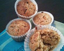 Healthy Yummy Breakfast muffin by Lucy Maxwell