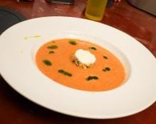 David Burke's Watermelon Gazpacho