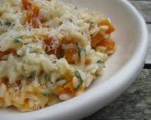 Butternut Squash Risotto with Kenwood Cooking Chef