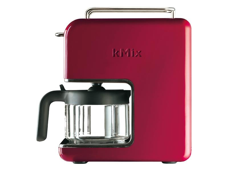 The CM021 kMix Coffee Maker featured in Raspberry