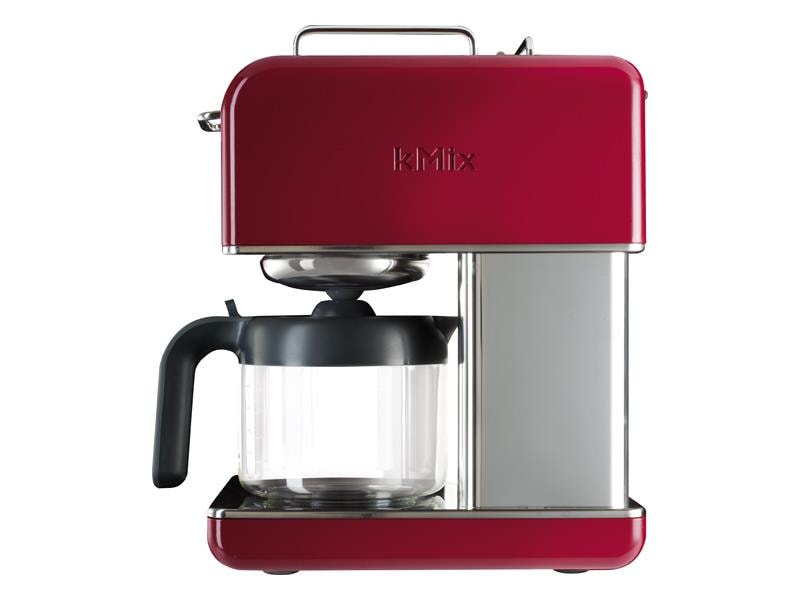 The CM041 kMix Coffee Maker featured in Raspberry