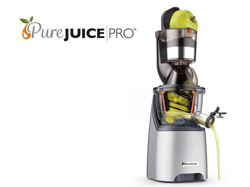 Extracteur de jus Pure Juice Pro JMP800SI kenwood france