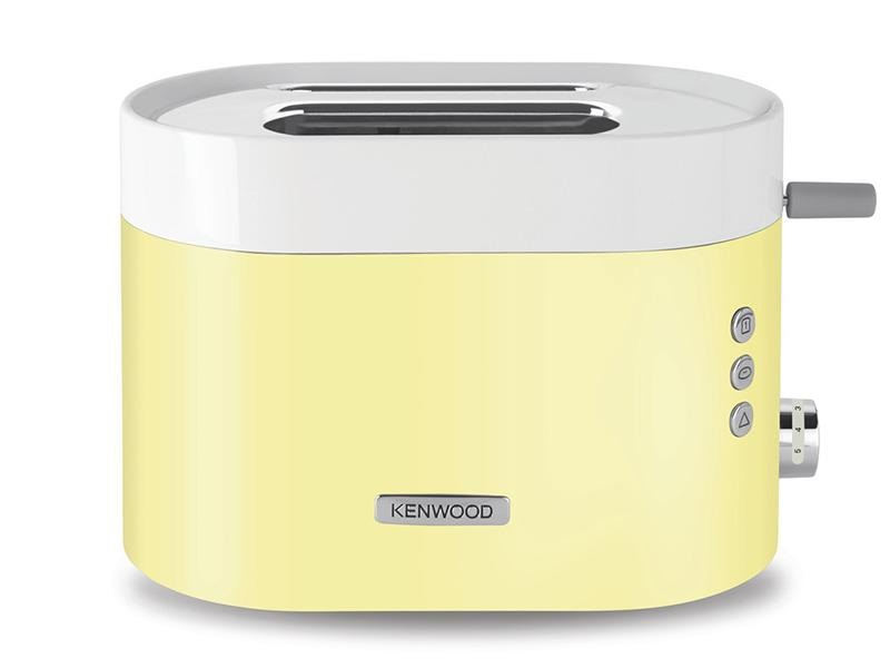 KSense 2 Slice Toaster - Zested Yellow - TCM400YE