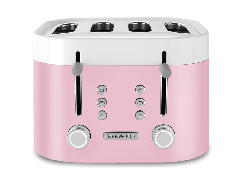 KSense 4 Slice Toaster - Drizzled Pink - TFM400PK