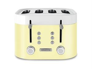 KSense 4 Slice Toaster - Zested Yellow - TFM400YE