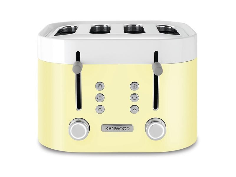 ksense 4 slice toaster zested yellow kenwood. Black Bedroom Furniture Sets. Home Design Ideas