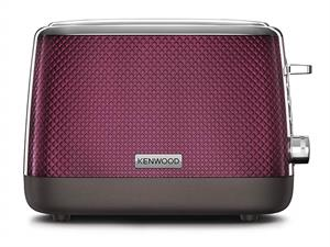Kenwood Mesmerine 2 Slot Toaster in Rich Plum