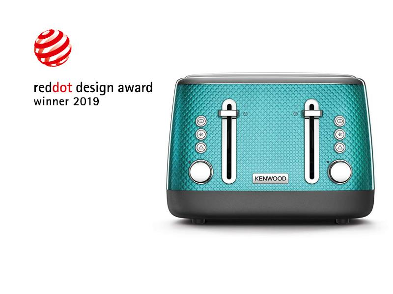 Mesmerine 4 Slot Toaster in Blue