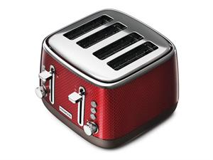 Mesmerine 4 Slot Toaster - Red - TFM810RD