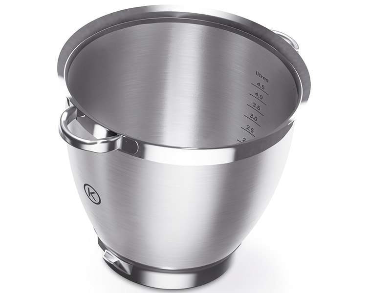 Chef Sense XL Stainless Steel Bowl With Handles