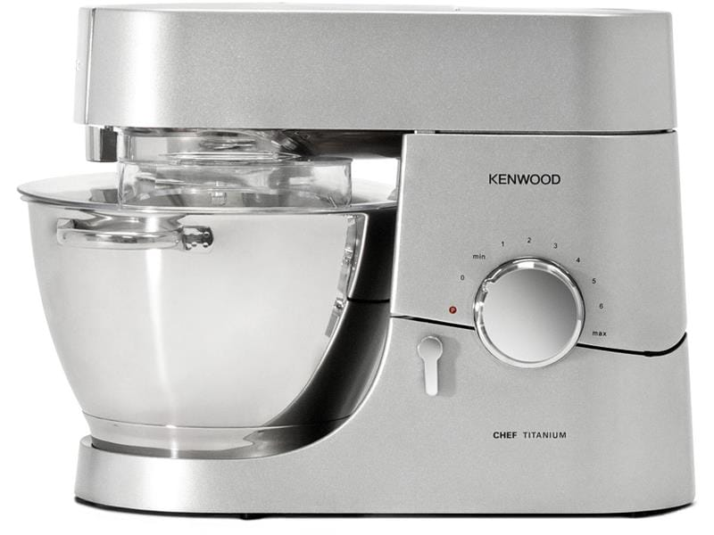 Kitchen Machine Chef 750W Stand Mixer with 3 Stainless Steel Bowl Tools,  5-QT - KMC011