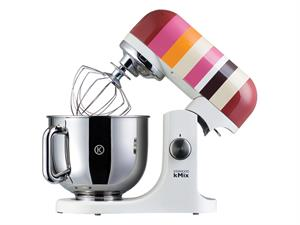 Fire Cracker Red Stripes Stand Mixer KMX84 by Kenwood UK