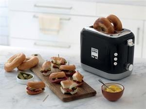 kMix 2 Slice Toaster - Rich Black - TCX750BK